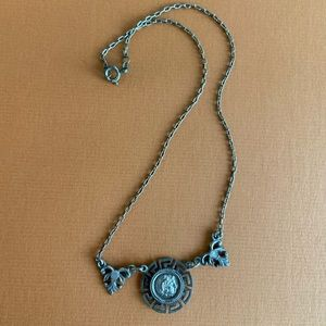 Antique Greek coin necklace